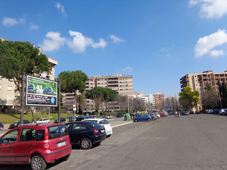 GREGOR 399 Viale Lina Cavalieri a mt. 75 da Via Pian di Sco' altezza chiesa lato parcheggio